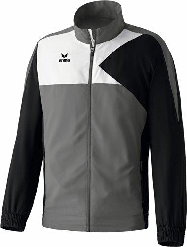 erima Kinder Anzug Premium One Präsentationsjacke Granit/Schwarz/Weiß 152 Preisvergleich