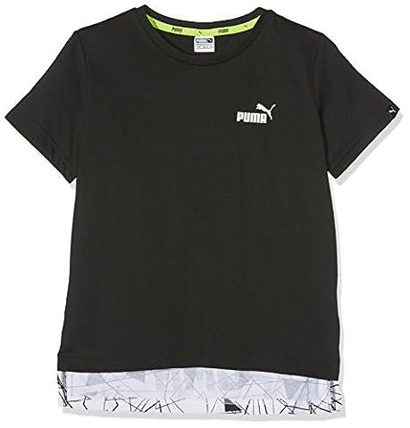 Puma enfants Sports Style Allover Thé T-shirt 14 ans Cotton Black