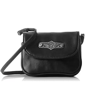 Lady Edelweiss Damen Trachtentasche Umhängetasche, 7x15x16 cm