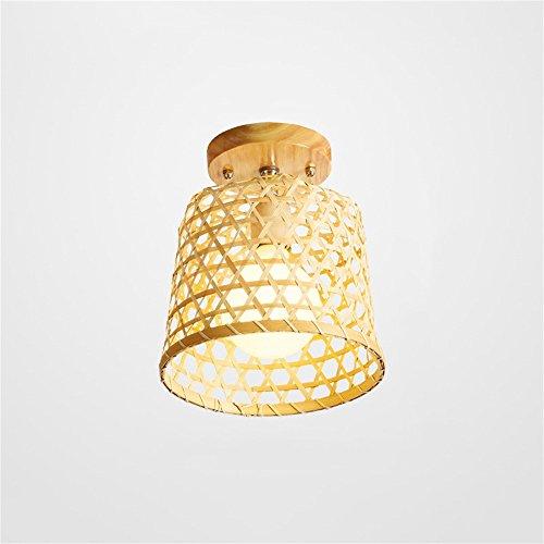 SMC Gang Korridor Lampe neue chinesische Club Rattan Holz Bambus Decke Lampe Eingang Retro Garten japanische Bambus Deckenleuchte