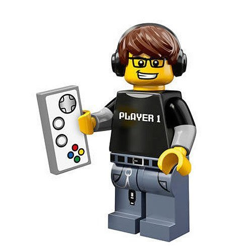 LEGO Minifigur - Series 12 - Video Game Guy - 71007 (Guy Series 12-video Lego Game)