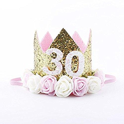 reif Stirnband Mehrfarbig Stirnbänder Halloween Krone (30) ()