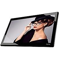 Hama Digitaler Bilderrahmen Slim mit Musik-/Video-Wiedergabe (43,94 cm (17,3 Zoll), Full HD, HDMI, USB, SD/SDHC/MMC-Kartenslot, MP3, 8GB) mit Fernbedienung, schwarz
