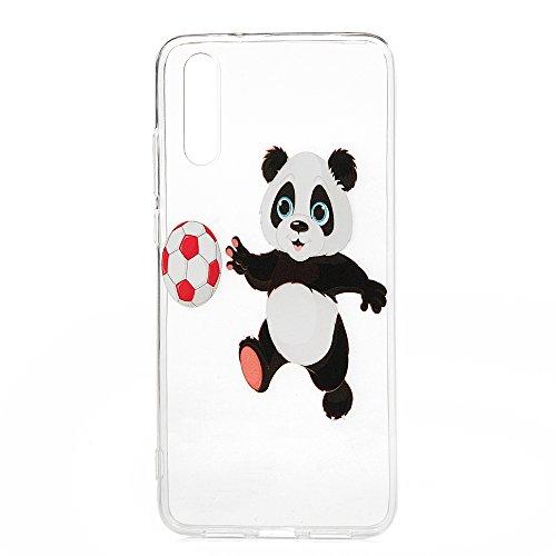 Huawei P20Phone Fall Klar, stoßfest transparent Kristall Klar Soft Flexible Silikon TPU Bumper Case Schutzhülle Ultra Dünn Slim FIT Silikon Grip Skin Smartphone Cover für Huawei P20