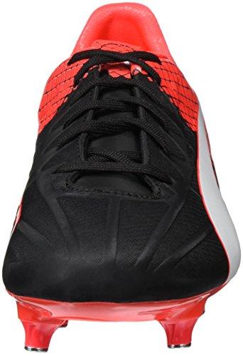 Puma Herren Evospeed 4.5 Sg Fußballschuhe Schwarz (black-Puma White-red blast 01)