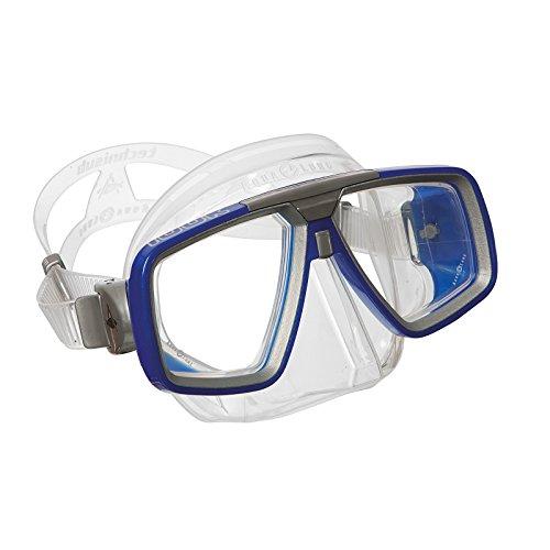 """Aqua Lung """"look"""" maschera subacquea taglia L - blu metallizzato"""