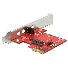 DeLOCK Carte PCIe 1 x Interne M.2 E Low Profile avec Adaptateur WiFi -