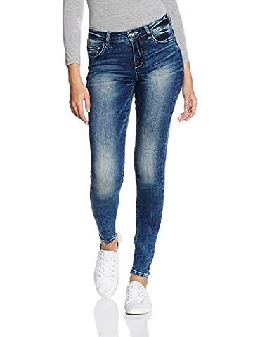 ONLY onlCARMEN REG DNM JEANS GUA12919 NOOS, Jeans Femme, Bleu (Medium Blue Denim), W30/L34 (Taille fabricant: