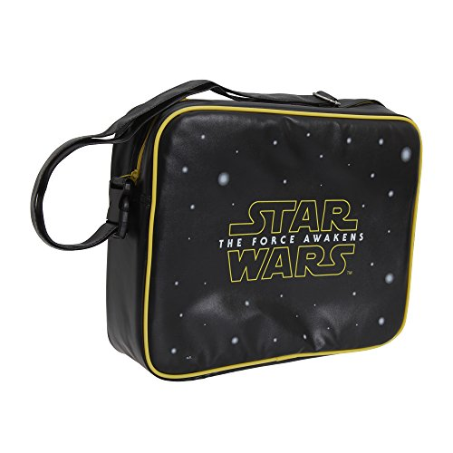 Star Wars The Force Awakens Messenger-Tasche Schwarz/Gelb