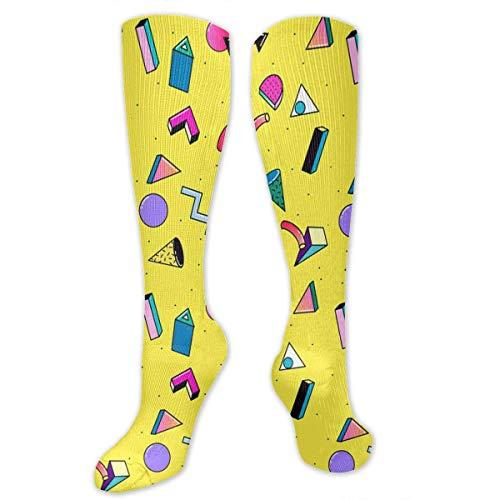 Graduated Knee High Socken Cotton Long Knee-high Stockings(50 Full Print) ()