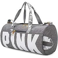 AISPARKY Gym Shoulder Bag, Lightweight Duffle Bag Sports Bag Weekend Travel Barrel Bag