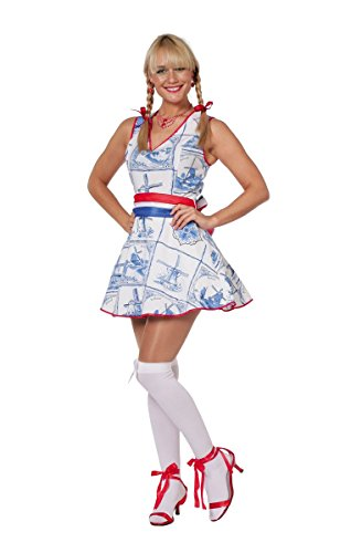 Damen Kostüm Holländerin Holland Kleid Karneval Fasching - Holland Kostüm