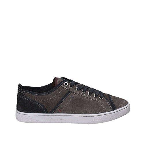 WRANGLER Scarpe Uomo Sneakers Jasper Derby in camoscio Grigio WM172112-ANTH