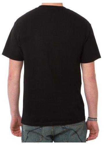 Unit T-Shirt Resort Schwarz Schwarz