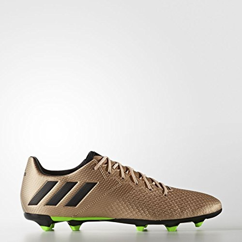adidas Herren Messi 16.3 FG BA9838 Fußballschuhe, Gold (Dorado/(Cobmet/Negbas/Versol) 000), 42 EU