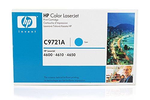 HP Color LaserJet 4650 DN - Original HP / C9721A Toner Cyan -