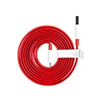 كابل شحن نوع سي داش تشارج من ون بلس - 100 سم، احمر