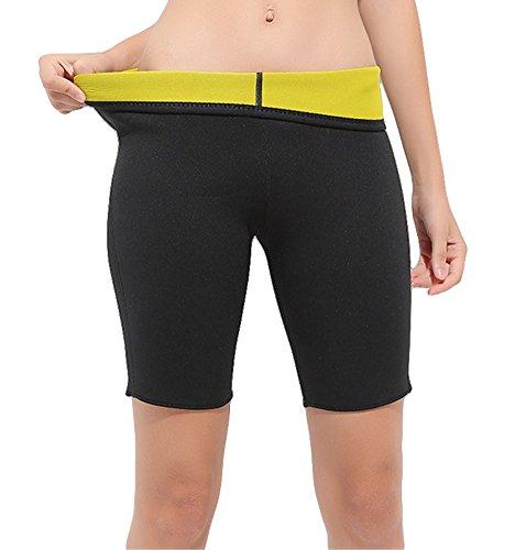 Fortunings JDS/® delle Donne Ciclismo Collant Pantaloni Lunghi Leggings Ciclo Imbottiti