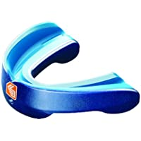 Shock Doctor MouthGuard - Gel Nano Convertible Mouth Guard Piece Pearl Blue - Adult