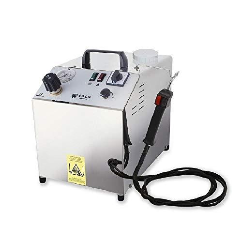 Eolo generatore di vapore professionale a ricarica automatica per la pulizia sanificazione lp02sra