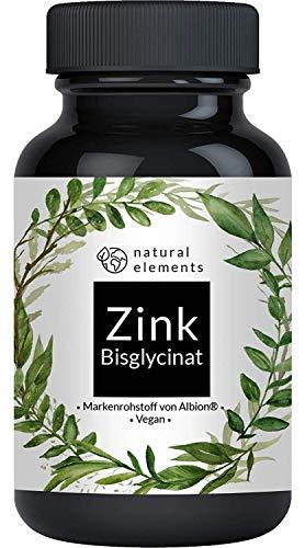 Zink 25mg - 365 Tabletten - Premium: Zinkbisglycinat (Zink Chelat) von Albion - Preis-Leistungs-Sieger 2018/2019* - Laborgeprüft, hochdosiert und hergestellt in Deutschland