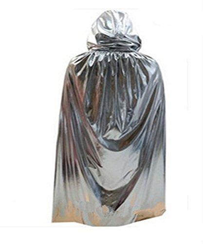 HiMqhy Halloween Spiel Grim Reaper Dress Up helles Tuch Mantel erwachsenen männlichen und weiblichen Horror Assistenten Dress Big Mantel Partei und Maskerade Kostüm, (Kostüme Assistent Frauen Für)