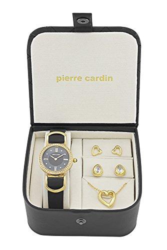 Pierre Cardin Orologio da donna e gioielli set pcx4375l187