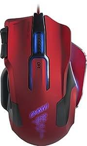 Speedlink SL-680006-BKRD OMNIVI Core Wired PC Gaming Mouse - Red/Black