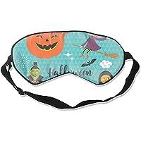 Halloween-Schlafmaske, tiefe Erholung, Augenmaske mit verstellbarem Kopfband, Schlafzufriedenheit garantiert,... preisvergleich bei billige-tabletten.eu