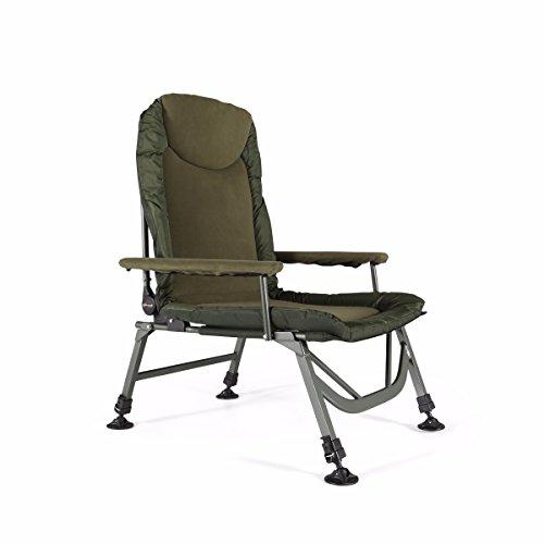 Cyprinus Lazy Boy Hi-Leg Fishing Arm Chair Seat RRP £139.99 Test