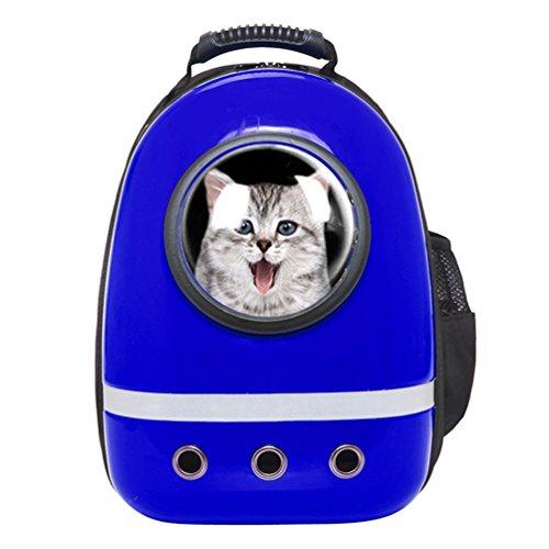 Mochila para Mascotas,NuoYo Gato / Perro Bolsa del Animal Doméstico del Portador al Aire Libre del Viaje. ( 30*43*25cm)
