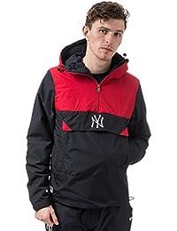 A NEW ERA Hombres Chaquetas/Chaqueta de Entretiempo MLB Smock NY Yankees