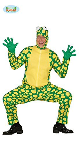 Frosch Kostüm für Erwachsene zu Karneval oder Halloween Gr. M-L, - Für Erwachsene Kröte Kostüm
