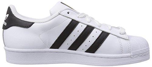 adidas Originals Superstar, Baskets Mode Mixte Adulte Blanc (Ftwr White/Core Black/Ftwr White)