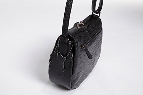 KK von matt LEDER schwarz Tasche CINDERELLA JOSYBAG EAwwqvISx
