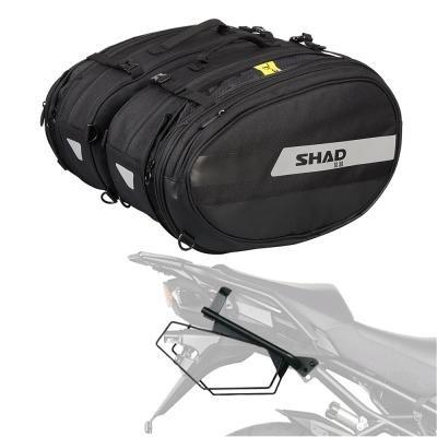 Viaje De Maletas Grandes (SHAD - AL58HE7/359 : Seitliche satteltaschen + notwendige unterstützungen X0SL58)