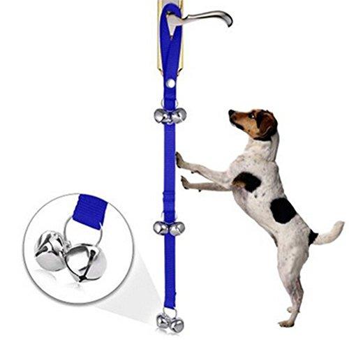 Toruiwa Cuerda timbre mascota Timbres Perro Ajustable