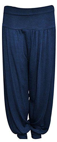 Fashion Oasis -  Pantaloni  - ragazza Navy 9-10 Anni