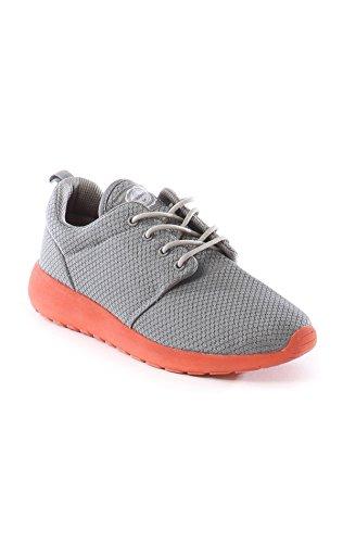 Zapatillas Deportivas Mujer Grises Modelo Kasius - Philpark - Bambas Mujer (38, Gris)
