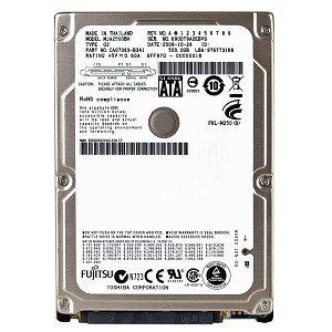 Fujitsu MHY2160BH Festplatte (160 GB, SATA/150, 5400 RPM, 8 MB, 2,5 Zoll) -
