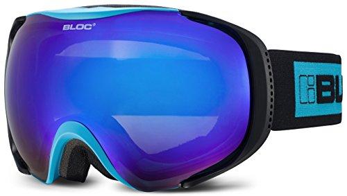 Bloc Goggles Matte blau Mask Goggles Lens Category 3