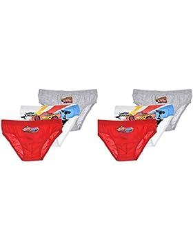 Pack de 6 slips diseño CARS (Disney-Pixar) 3 diseños diferentes tallas 2/3, 4/5 y 6/8 años (100% algodon)