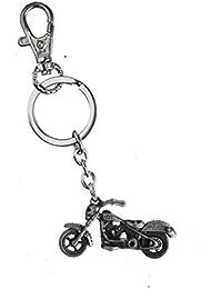 Techpro Harley Davidson Silver Colour Bike Model Metal Keychain