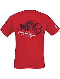 e33cbaba Orange County Choppers Bike Render T-Shirt red