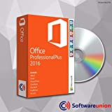 Microsoft Office 2016 Professional Plus Sie erhalten bei uns eine DVD mit Microsoft Office 2016 Professional Plus. Die DVD beinhaltet sowohl die 32 Bit Architektur, als auch die 64 Bit Architektur. Zudem erhalten Sie hier von uns einen 100 Prozent gü...