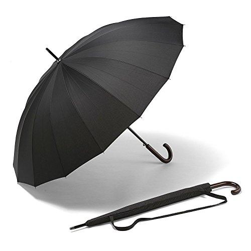 Paraguas Grande K-POP – El Mejor Paraguas Largo para Fuertes Vientos
