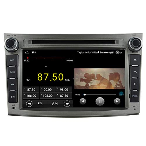 Subaru Legacy Stereo (Autosion Android 8.1 Auto DVD Player GPS Stereo Head Unit Navi Radio Multimedia WiFi für Subaru Legacy Outback 2009 2010 2011 2012 2013 2014 Lenkradsteuerung)