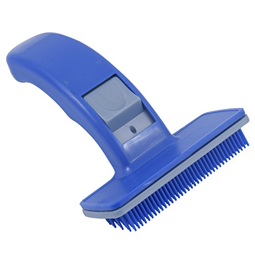 SRI Dog Plastic Slicker Brush with Press Key