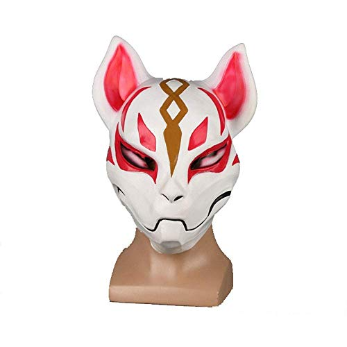 YaPin Festung Nacht COS Fox Maske Tier Fox Halloween Dress Up Tanzschütteln Requisiten Fox Maske