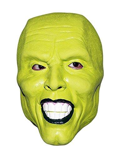 MASCARELLO Jim Carrey Latex Realistische Berühmte TV Film Persönlichkeit Menschlicher Kopf Maske Halloween Cosplay Kostüm (Jim Carrey Kostüm)